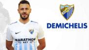 Así anunció el Málaga la llegada de Demichelis