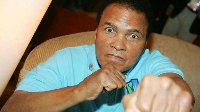 Muhammad Ali, en 2005 en Singapur.