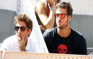 Marc López y Feliciano López en una imagen de archivo.