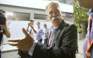 Chase Carey, nuevo máximo responsable de la F1, colocado al frente de...