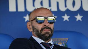 Monchi, en el partido disputado ante el Leganés.