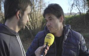 Crivillé, durante la entrevista a Catalunya Radio