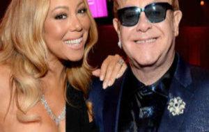 Mariah Carey y Elton John