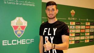 Borja Valle ya es jugador del club alicantino.