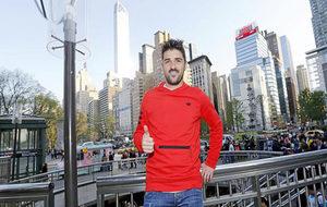 David Villa, en Nueva York.