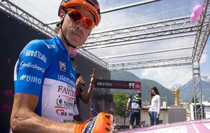 Damiano Cunego no firmar� este a�o en las salidas del Giro de...