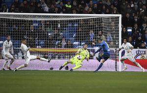 Iago Aspas  marca el 0- 1