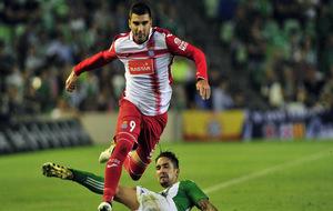 Reyes durante el partido contra el Betis.