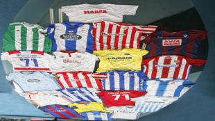 Las 20 camisetas de los equipos de la Liga