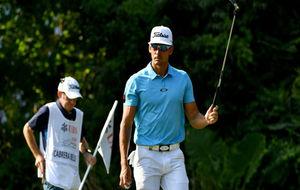Cabrera-Bello, durante el Hong Kong Open del pasado mes de diciembre.