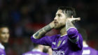 Ramos se encara con la afici�n del Sevilla