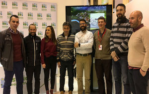 Un momento de la presentación del Open de España de Enduro.