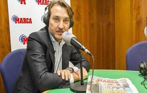 El presidente Quico Catalán, en los estudios de Radio MARCA Valencia