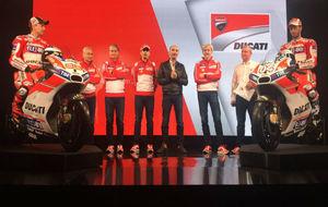 Presentación oficial de Ducati