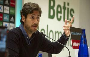 Víctor Sánchez del Amo, en la rueda de prensa de este viernes.