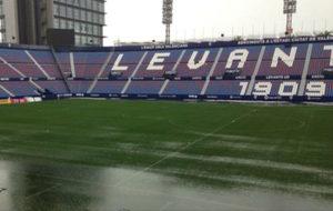 Imagen del estadio Ciutat de València este viernes.