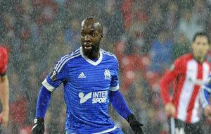 El jugador francés, en un Athletic-Marsella de Europa League