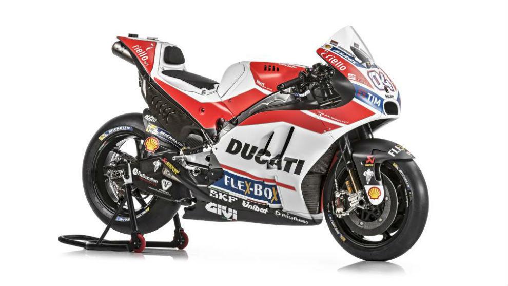 Así es la nueva Ducati Desmosedici GP17 de Dovizioso y Lorenzo