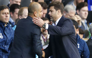 Guardiola y Pochettino se enfrentan esta tarde.