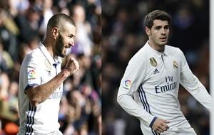 Benzema y Morata marcan con el Real Madrid