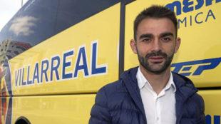 Adrián, en su anterior etapa en el Villarreal