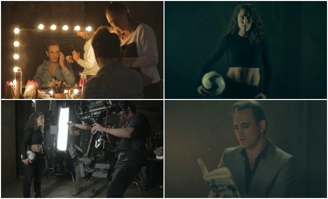 Frames del videoclip 'Pasos de baile' de Igor Paskual con Vero...
