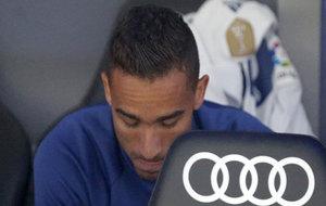 Danilo, en el banquillo.