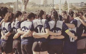 El equipo de rugby femenino del Club Deportivo Universidad de Málaga