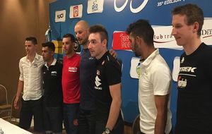 Rui Costa, Laureano Rosas, Vincenzo Nibali, Tom Boonen, Elia Viviani,...