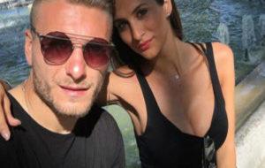 Jessica Malena y Ciro Immobile