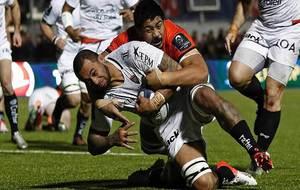 Manu Samoa se lanza en busca del ensayo ante Saracens a pesar del...