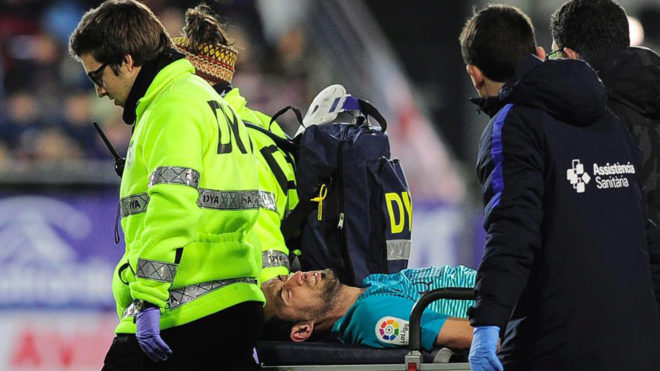 وشلت برشلونة في خط الوسط بعد إصابة ...