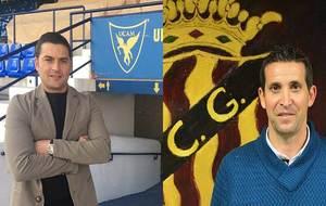 Francisco y Juan Merino se 'estrenaron' al frente de UCAM...