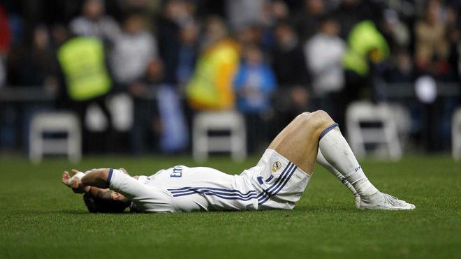 Ronaldo, en el partido ante el Málaga.