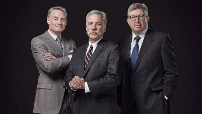 Sean Bratches, Chase Carey y Ross Brown, el triunvirato de Liberty...