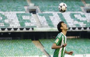 Presentación de Rubén Pardo como nuevo jugador del Betis