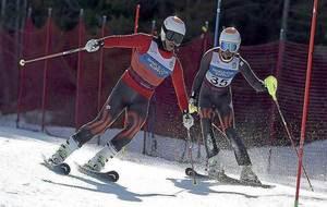 Miguel Galindo (izquierda) y Jon Santacana (derecha) durante una...