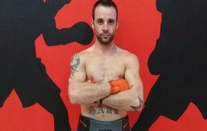 El boxeador leonés Saúl Tejada.