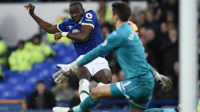 Bolasie, con el Everton.