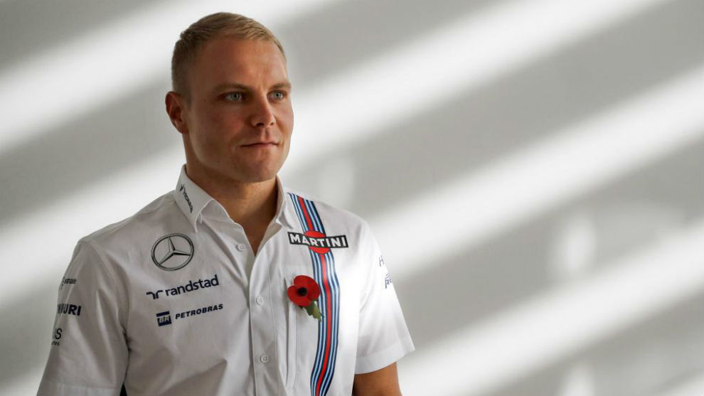 Bottas, durante su etapa en Williams
