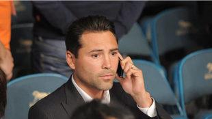Oscar De La Hoya quedó bajo la custodia de su representante