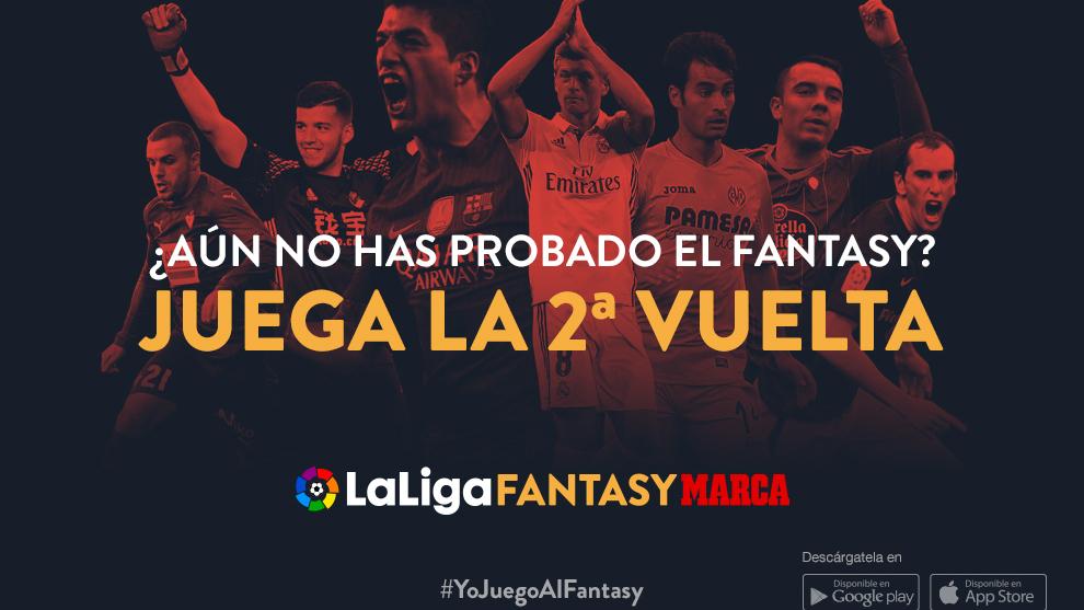 Haz tu equipo y gana la segunda vuelta con LaLiga Fantasy MARCA