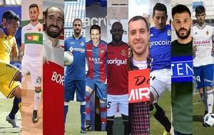 Kadir, Borja Valle, Borja Fdez., Sergio Mora, Juan Muñoz, Emaná,...