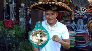 El 'Bandido' Vargas, listo para la pelea.