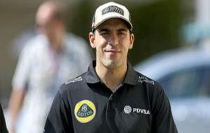 Pastor Maldonado durante su etapa en Lotus