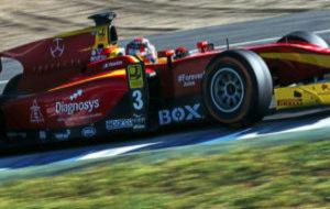 Norman Nato (Racing Engineering) en los test de GP2, en Jerez, de...
