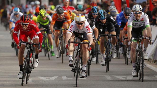 André Greipel se impuso en la primera etapa de la Vuelta a Mallorca.