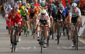 Andr� Greipel se impuso en la primera etapa de la Vuelta a Mallorca.
