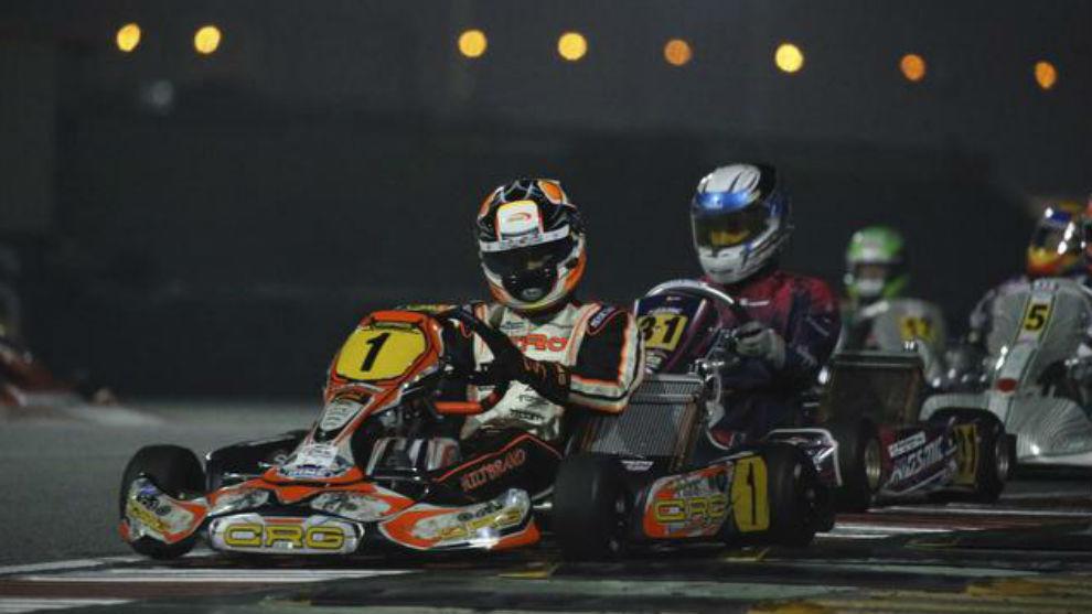 Pedro Hiltbrand durante la última prueba en Bahréin