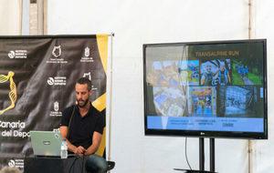 Ruyman de Armas, en la ponencia sobre su experiencia deportiva